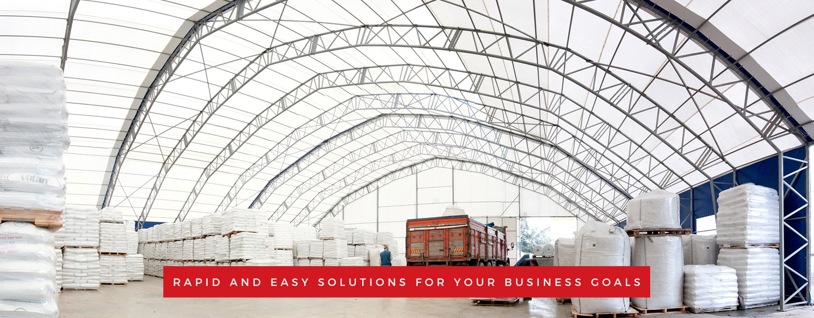 Basboga tent and tarpaulin, rapid and easy solutions for your business goals