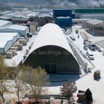 Çelik Konstrüksiyonlu Çadır Bilecikde Kuruldu