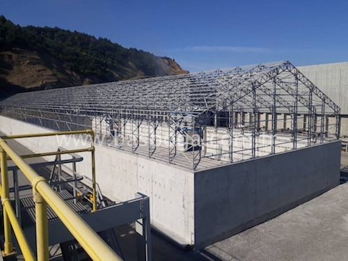 In Zonguldak: A Tent With the Size of 29x162m Was Established