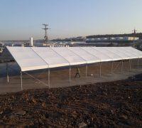 İstanbul Yeni Havalimanı İnşaatı Alüminyum Konstrüksiyonlu Çadır