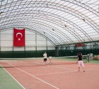 Kapalı Tenis Kortu, Spor Alanı Çadırı