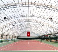 Spor Çadırı, Tenis Kortu Çadırları